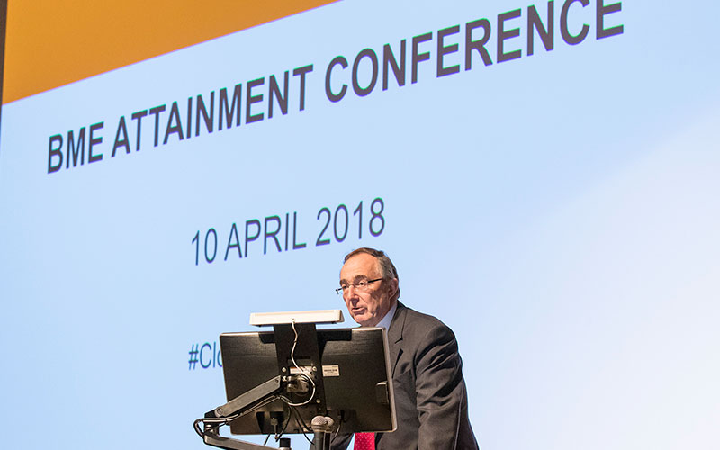 The Provost opens the UCL BME Attainment Conference 2018