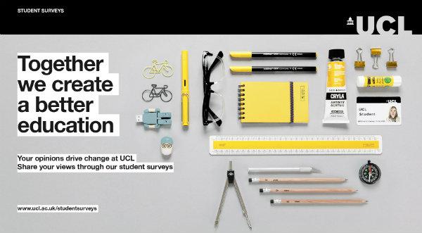 Student surveys homepage banner