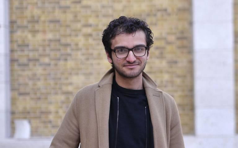 A photo of UCL student Mohammad El Gendi