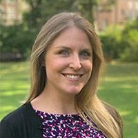 A photo of Erin Saxon smiling