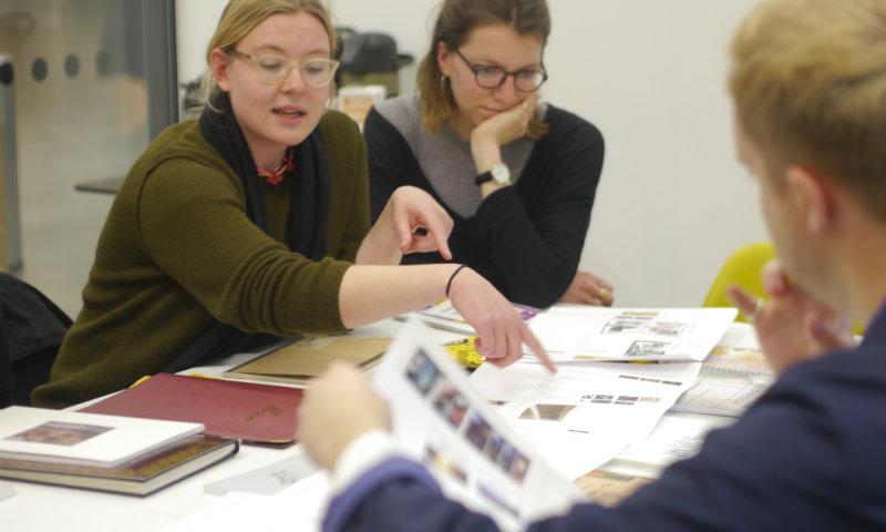 Bartlett student in workshop