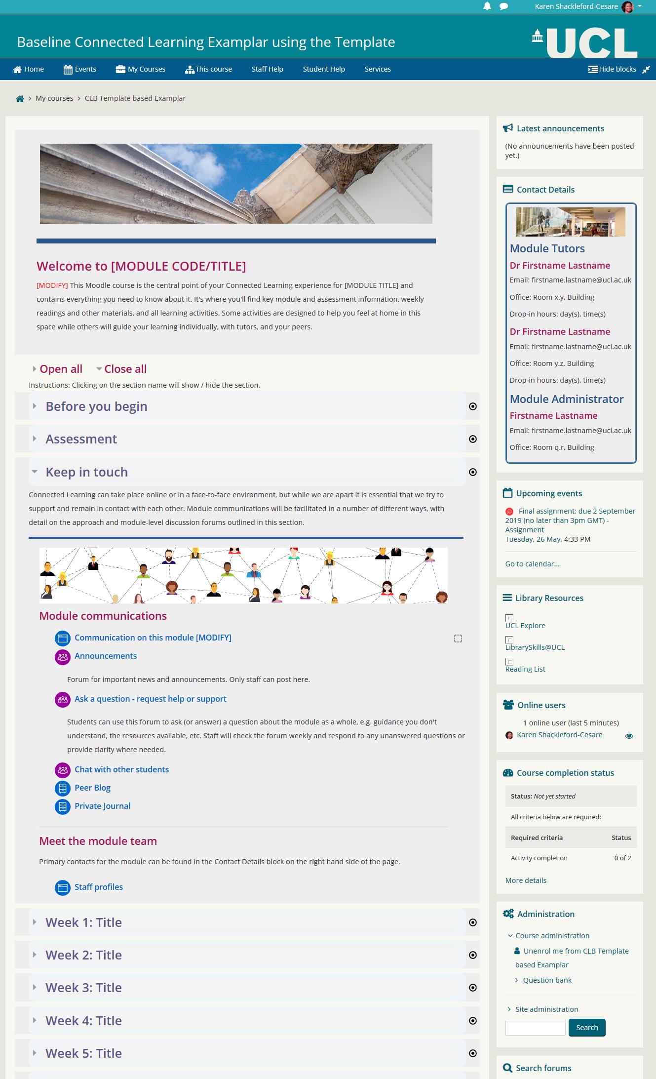 Screenshot Example of Baseline 3.8