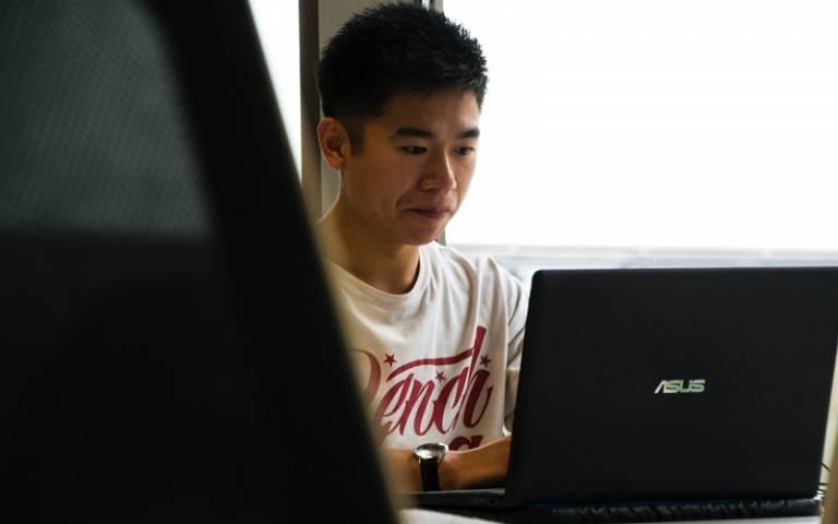 Student on laptop. Credit: Matt Wildbore/Unsplash