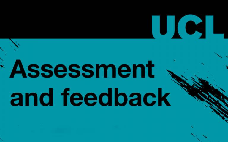 Assessment and feedback booklet cover