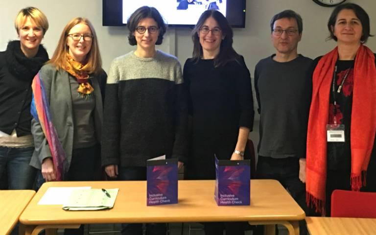 Team members: Carlotta Ferrara degli Uberti, Catherine Keen, Beatrice Sica, Lisa Sampson, Vieri Samek-Lodovici, and Lucia Rinaldi