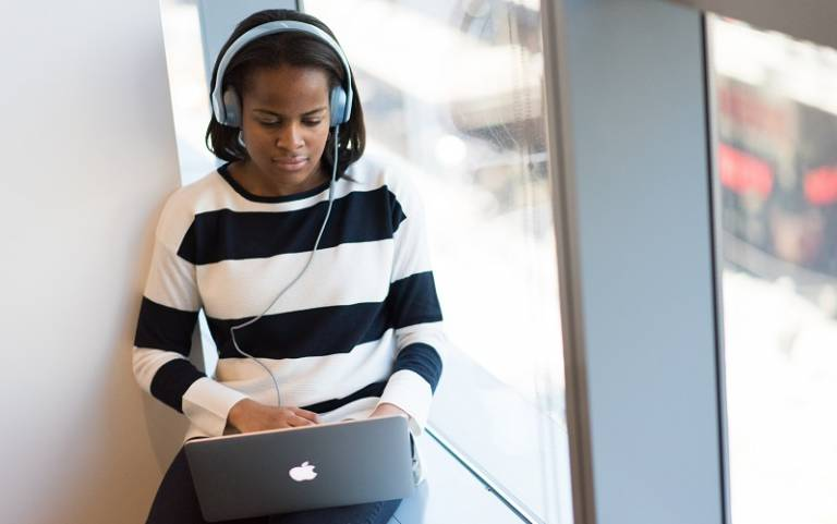 Student on laptop call. Image credit: Christina Wocintechchat / Unsplash