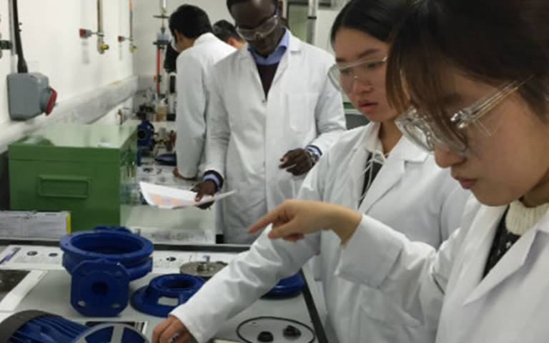 Students in UCL Chemical Engineering