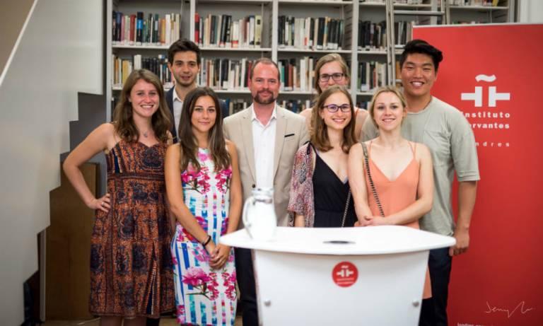 Launch of undergrads Spanish fiction book