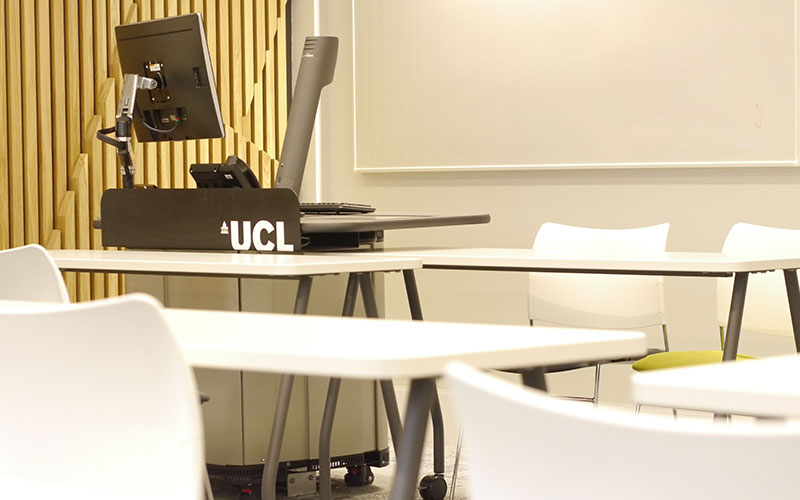 Teaching Room G08 in the newly refurbished Torrington Place