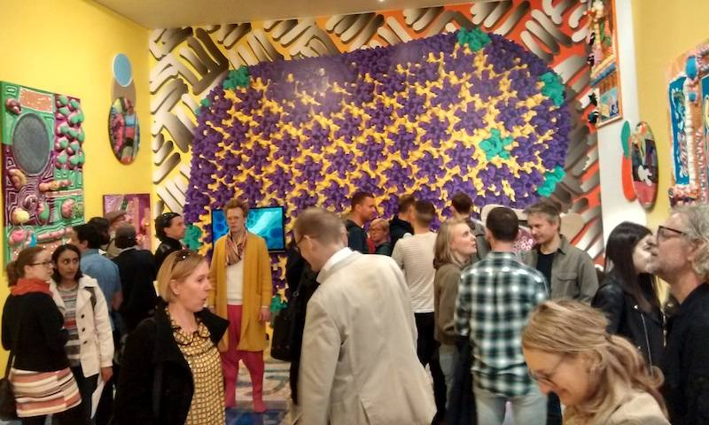 Capsid exhibition at CGP London's galleries.
