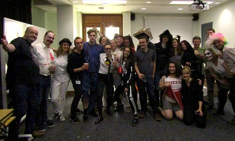 Towers lab and friends celebrate Halloween at the Towers Lab Halloween party 2017