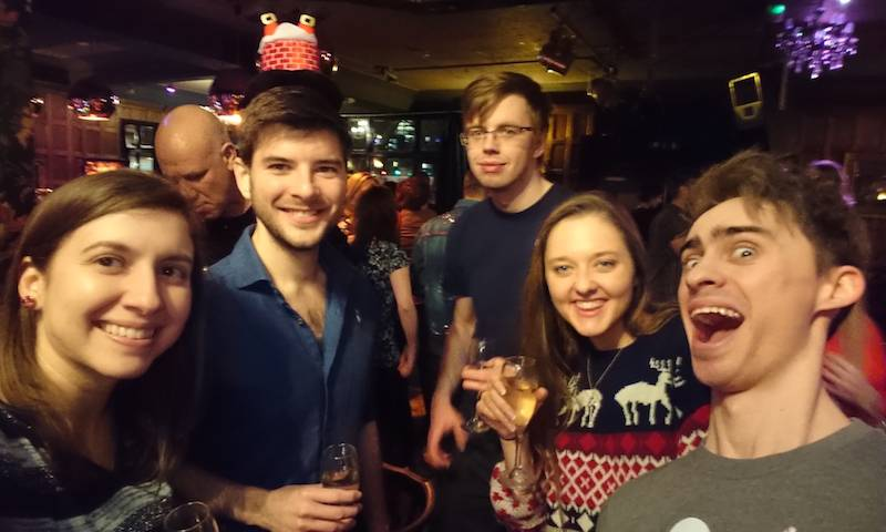 Infection and Immunity Christmas party at The Star of Kings. 2018