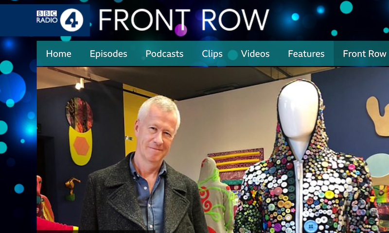 John Walter is interviewed on BBC Radio 4's 'Front Row' about his 'CAPSID' Exhibition at 'Home' in Manchester