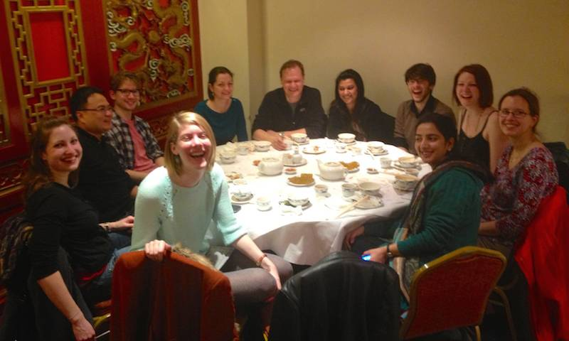 Jo, Corina, Tan, Adam, Caroline, Greg, Jane, Chris, Laura, Elle, Fatima at Fatima's leaving do