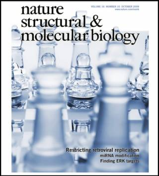 Cover of Nature Structural and Molecular Biology referencing Price et al, 2009.