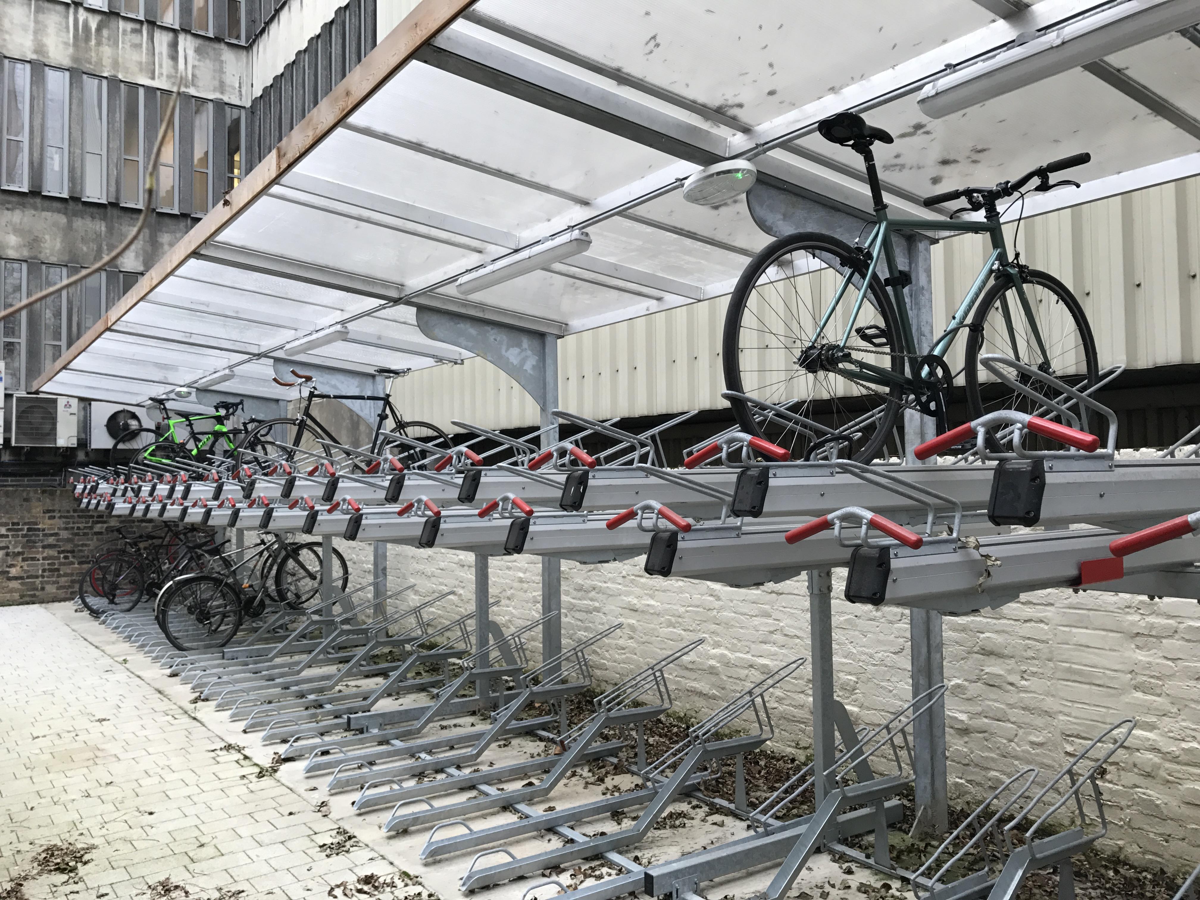 22 Gordon Street bike racks