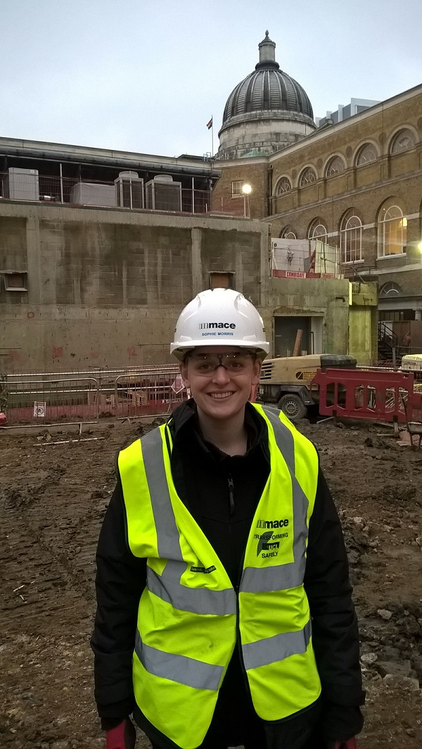 UCL Alumna Working on Site of New Student Centre