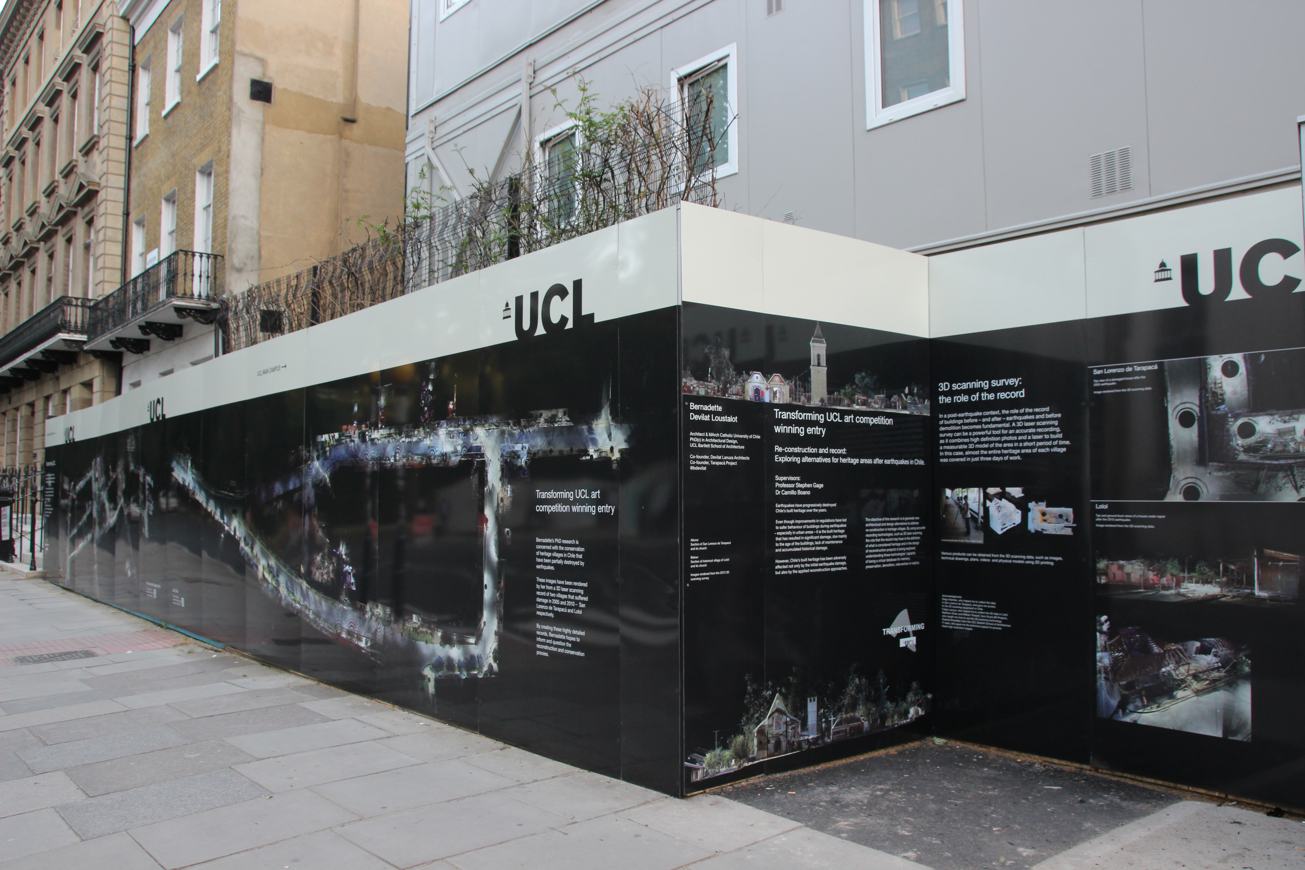 Transformations Competition Hoardings