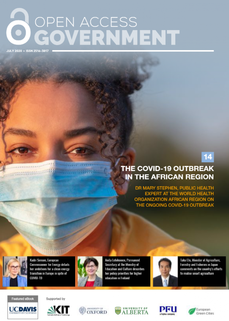 Open Access Government July 2020 cover