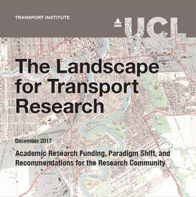 Report Cover: Landscape for Transport Research