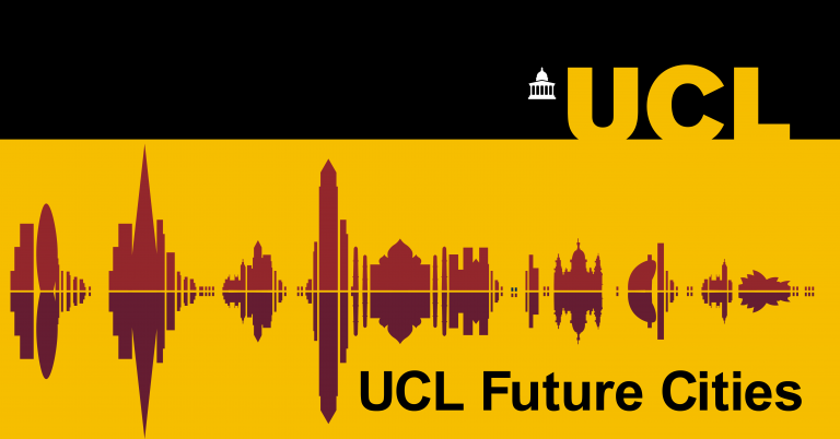 Graphic of the UCL Future Cities podcast