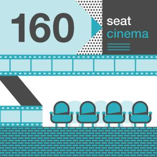 160 seat cinema in phase 1 infographic