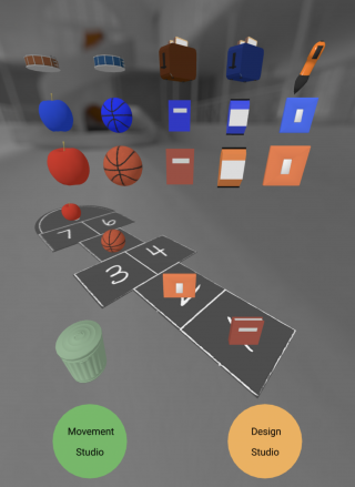 Screenshot of the RE:INVENT Digital app