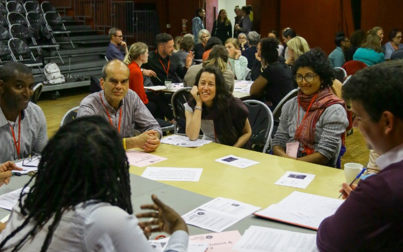 A session organised as part of the Creating Connections project
