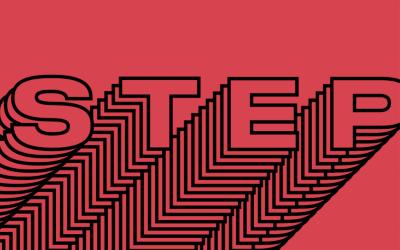 Red STEP logo.