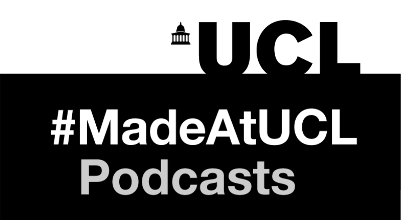 MadeAtUCL Podcast Logo