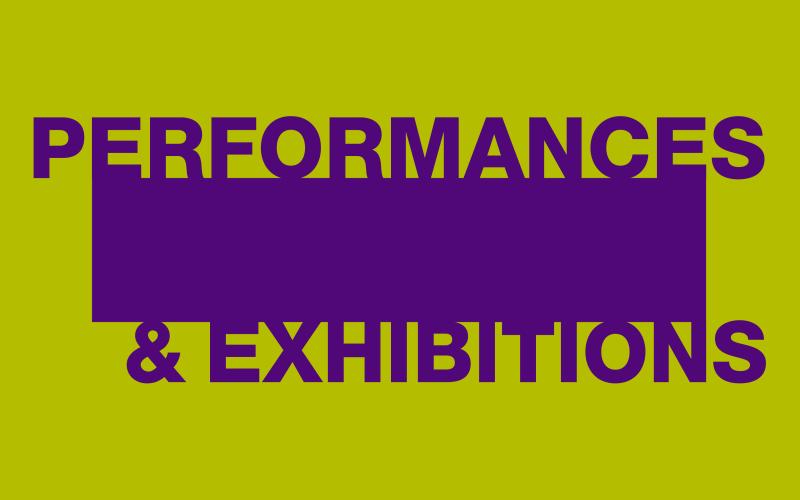 Performances & Exhibitions tile