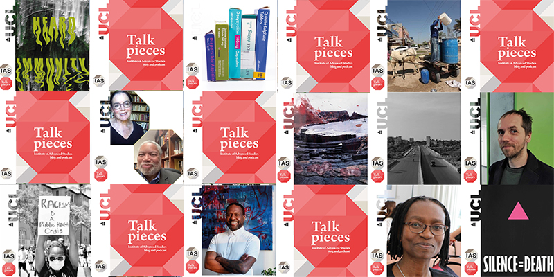 Institute of Advanced Studies Talk Pieces Podcast banner