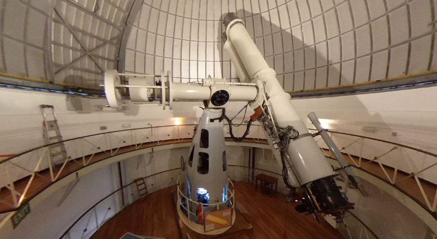 The Radcliffe Telescope