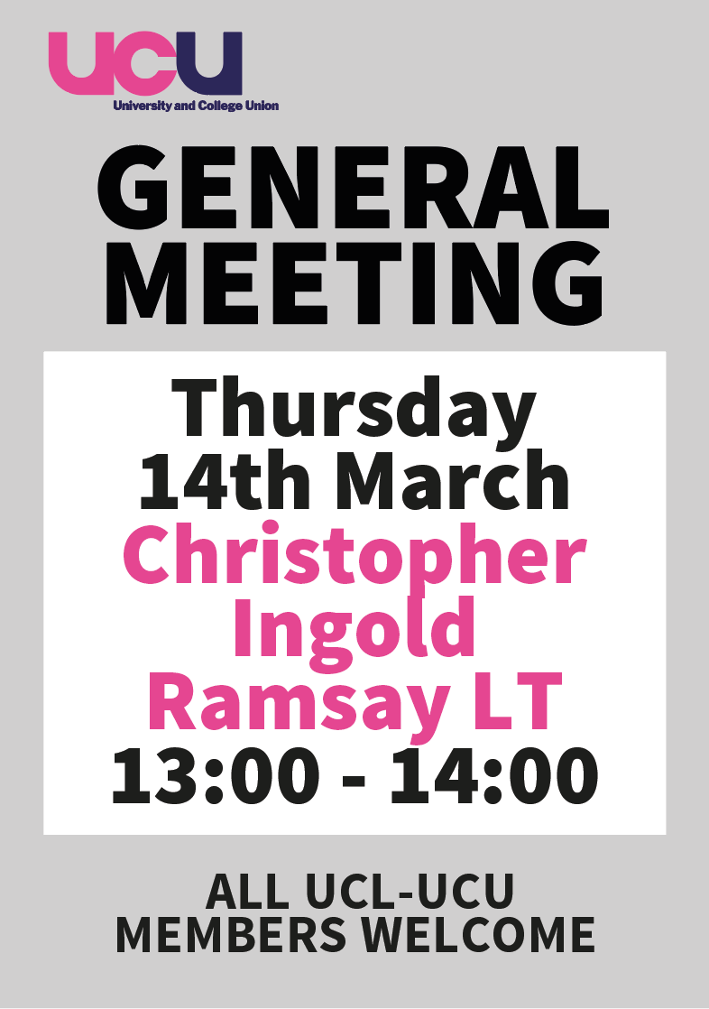 general meeting 14th March