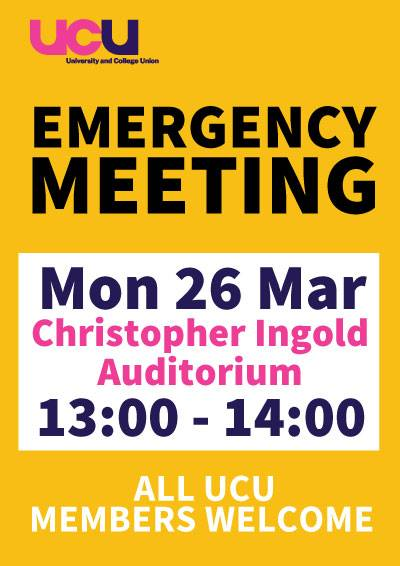 Emergency Meeting 26th March 2018