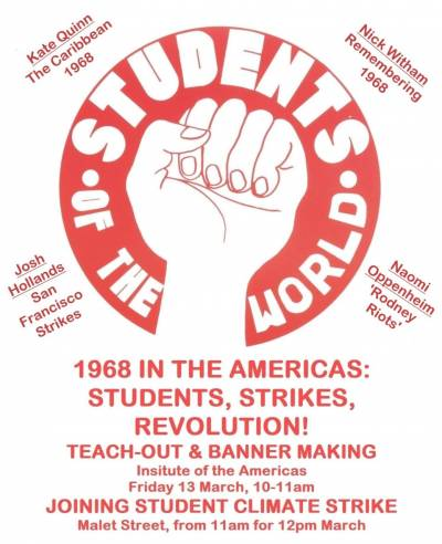 Institute of the Americas Teachout 10am Friday 13th March
