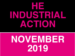 HE Industrial Action November 2019 - click for more info