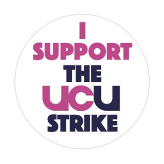 I support the UCU strike