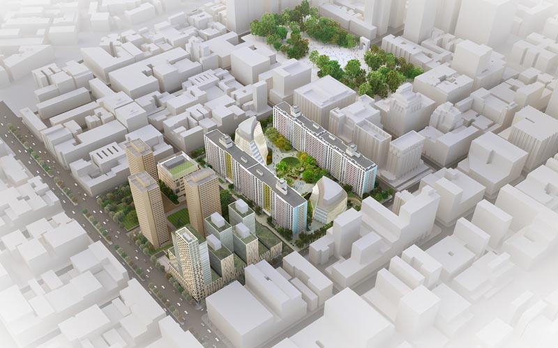 New York University development plan visualisation