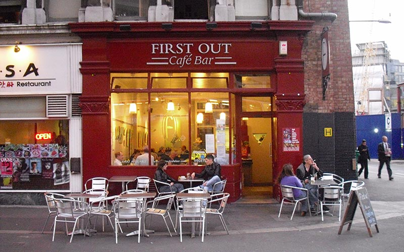 First Out café in Soho