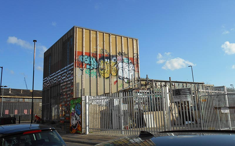Hub67 community centre in Hackney Wick, credit Clare Melhuish