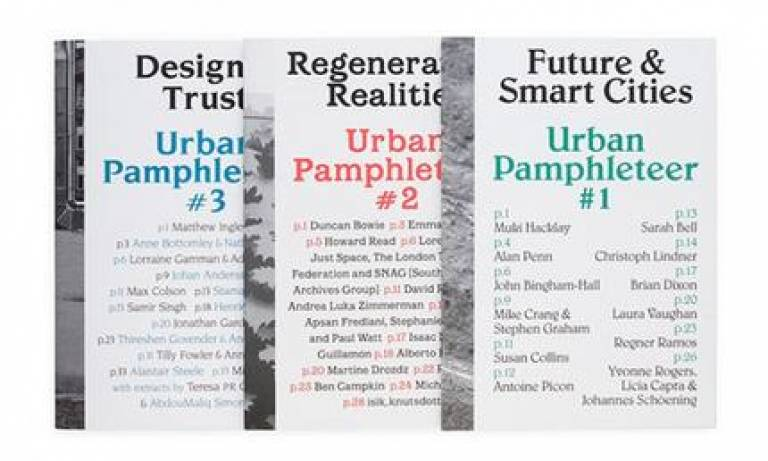 Urban Pamphleteer issues 1-3