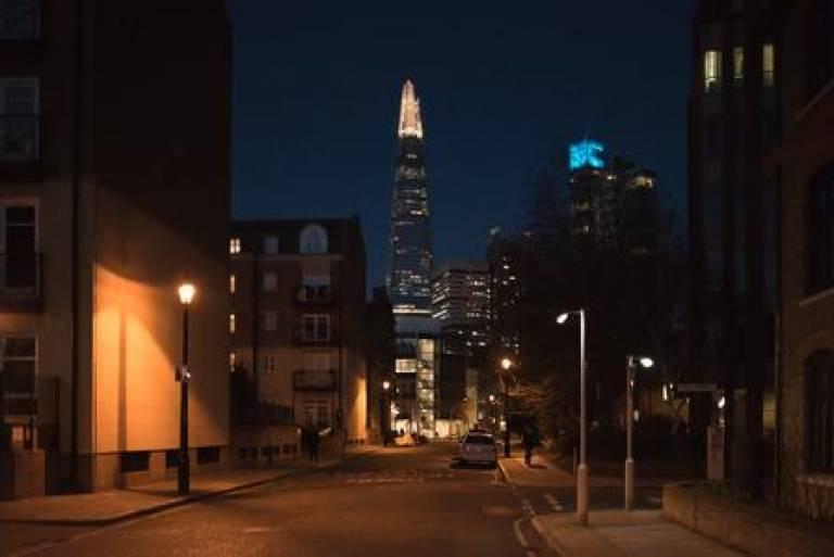 Shard at night