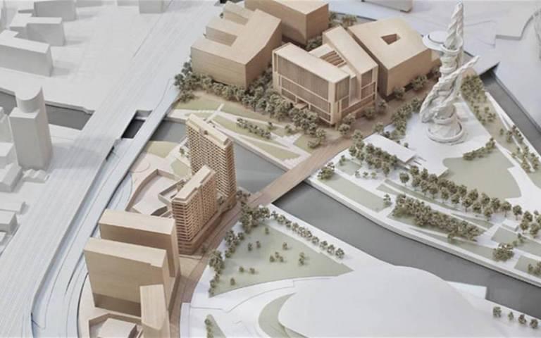 UCL East visualisation