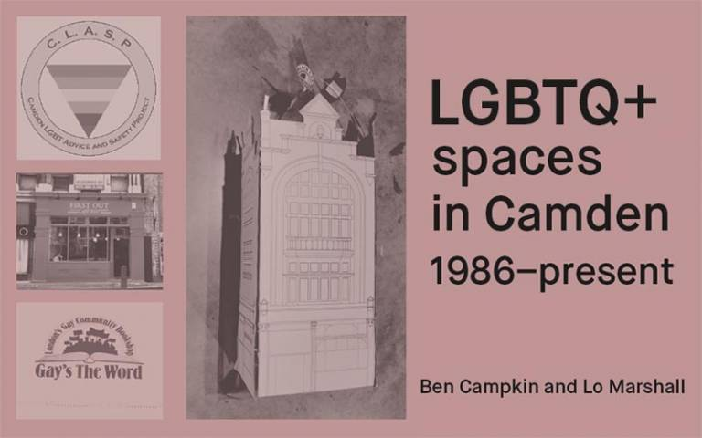 LGBTQ+ Spaces in Camden report cover