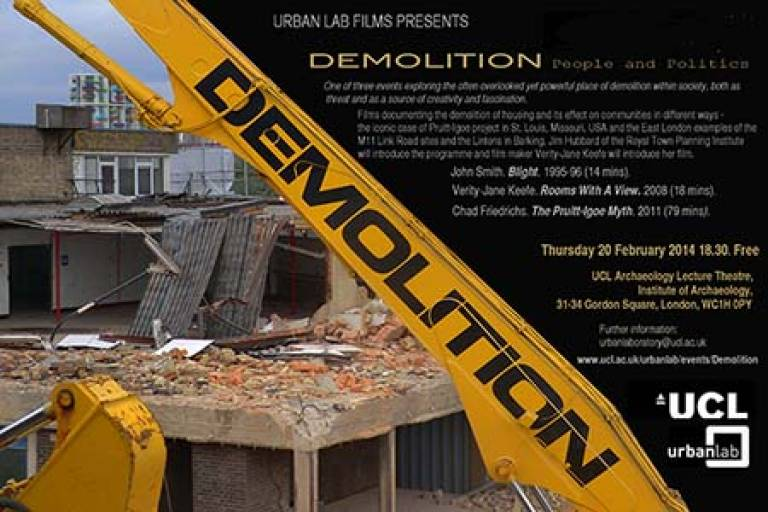 Demolition: People and Politics