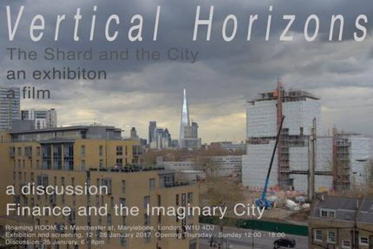 Finance and the Imaginary City