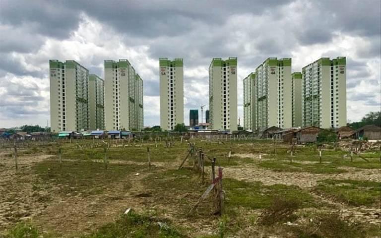 Yangon public housing – credit: Catalina Ortiz