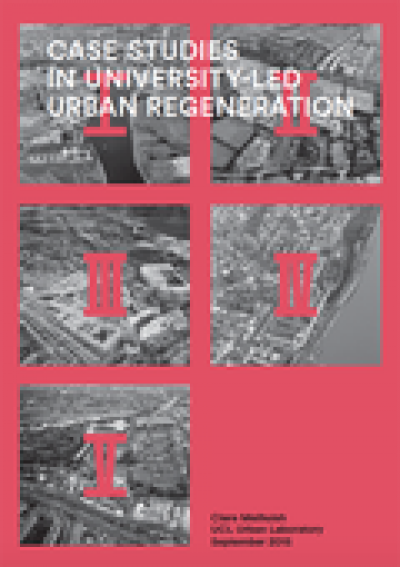 Case Studies in University-led urban regeneration - front cover