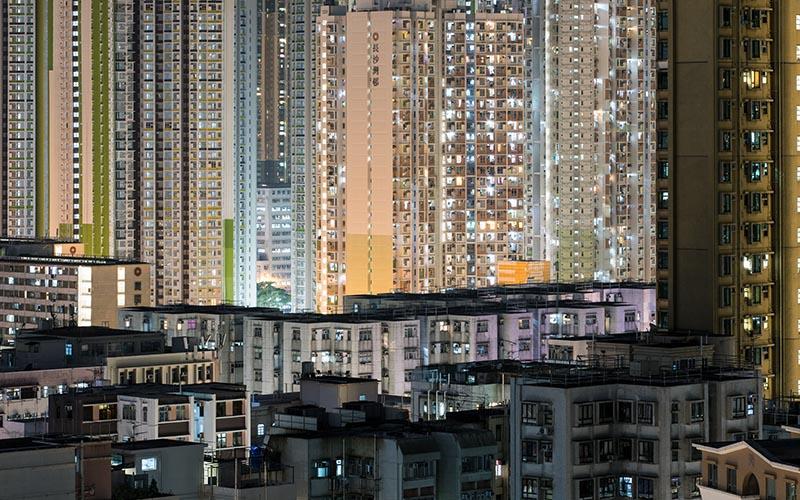 Sham Shui Po in Hong Kong